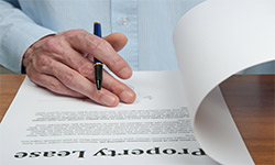 Lease options and equitable interest