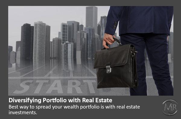 diversifying portfolio with real estate