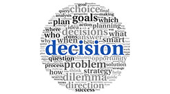 get ahead being decisive